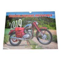 Kalendarz 42 x 32 Czechosłowackie Motocykle 2019