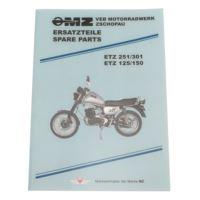 Katalog części MZ ETZ 125 150 251 301