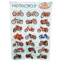 Plakat motocykle Jawa - 64 cm x 94 cm