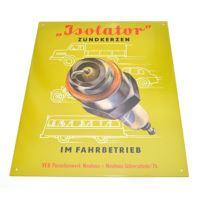 Plakat na blasze Świeca Isolator 33 cm x 39 cm