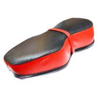 Siedzenie Jawa 250 czarno czerwone vrubkovana