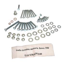 Śruby silnika Jawa 350 TS 638